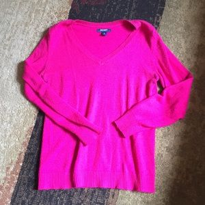 Hot pink! Sweater